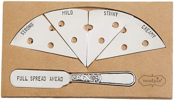 Cheese Markers W/Spreader Set
