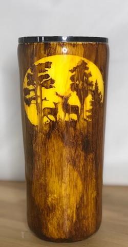 Deer Wood Tumbler