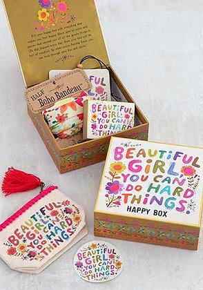 Natural Life Happy Box Beautiful Girl
