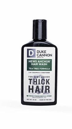 Duke Cannon News Anchor 2-in-1 Hair Wash - Tea Tree Formula