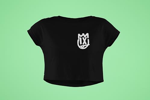 Women's Pocket Logo Crop Top