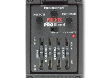 FISHMAN Prefix Pro Blend Onboard Preamp כולל התקנה בגיטרה