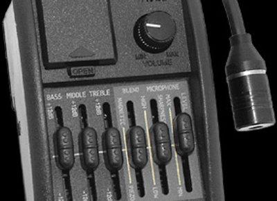 Share| Artec HT-TBL,Blender EQ,Condenser Microphone, Soundhole Magne כולל התקנה
