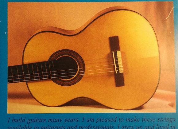 Alfredo Gonzalez Professional סט מיתרים לגיטרה קלאסית.
