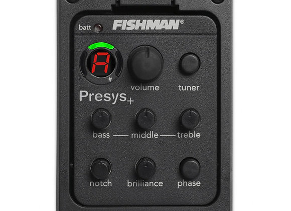 FISHMAN PRESYS כולל התקנה בגיטרה