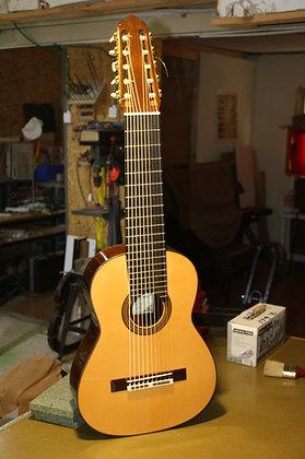 ALFREDO GONZALEZ CONCIERTO 10 STRINGS  BRAZILIAN ROSEWOODגיטרה אלפרדו גונזלס דגם