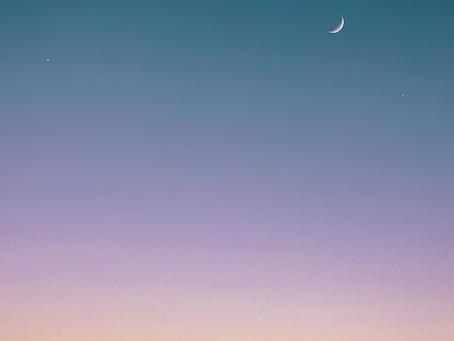 Nouvelle lune - mardi 24 mars 2020 - 10 h 29 : 36