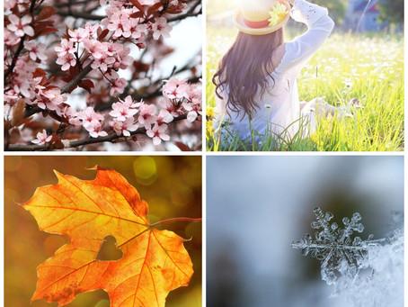 L'appel du cycle des saisons.