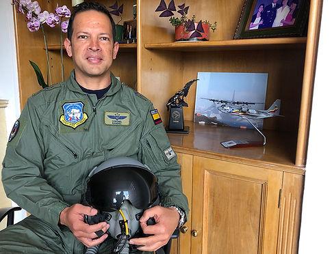 El piloto del C-130 Hércules FAC 1005