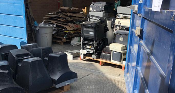 El riesgo de los recursos para tratar residuos peligrosos