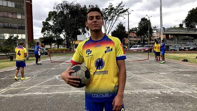 Cristian Bonilla, una estrella del Futnet en Colombia