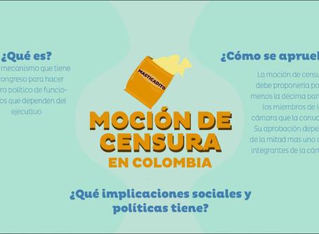 Moción de censura en Colombia