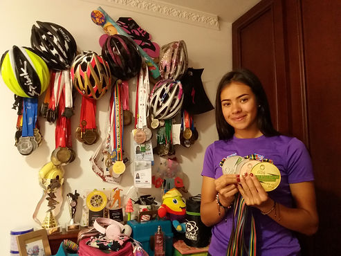 La colombiana que ganó oro en los Olímpicos de la Juventud