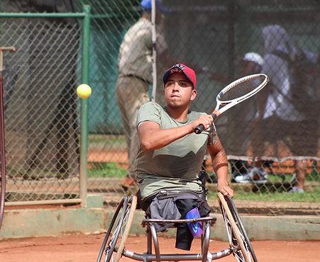 Una promesa del tenis paralímpico