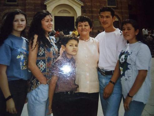 El viaje de una familia desplazada