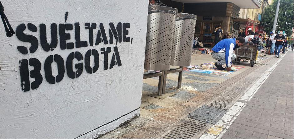 Suéltame Bogotá