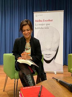 No escribo solo para mujeres: Melba Escobar