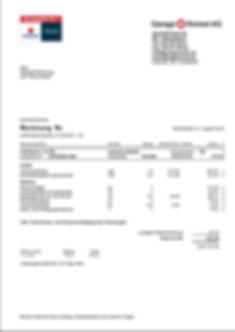 Service Rechnung VW Skoda Seat Audi
