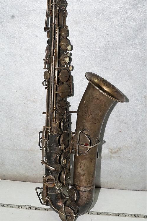 J W York And Son Saxophone