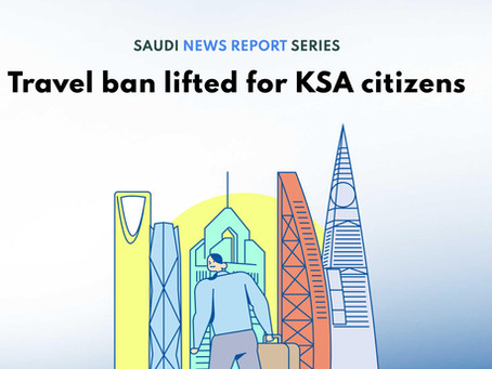 Travel ban lifted for KSA citizens