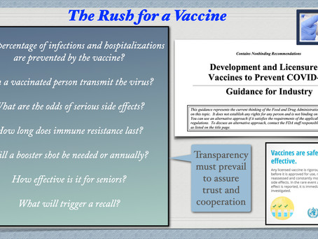 Vaccine Questions, Demanding Answers