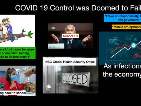 The Most Powerful Country is Defeated by a Virus.