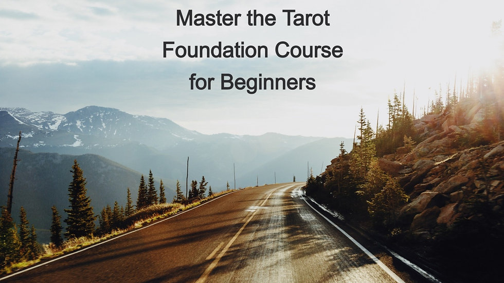 Master the Tarot - Foundation Level