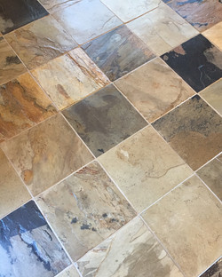 Slate Tile and Grout Cleaning