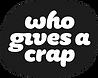 Who Gives A Crap logo