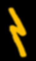 yellow lightening