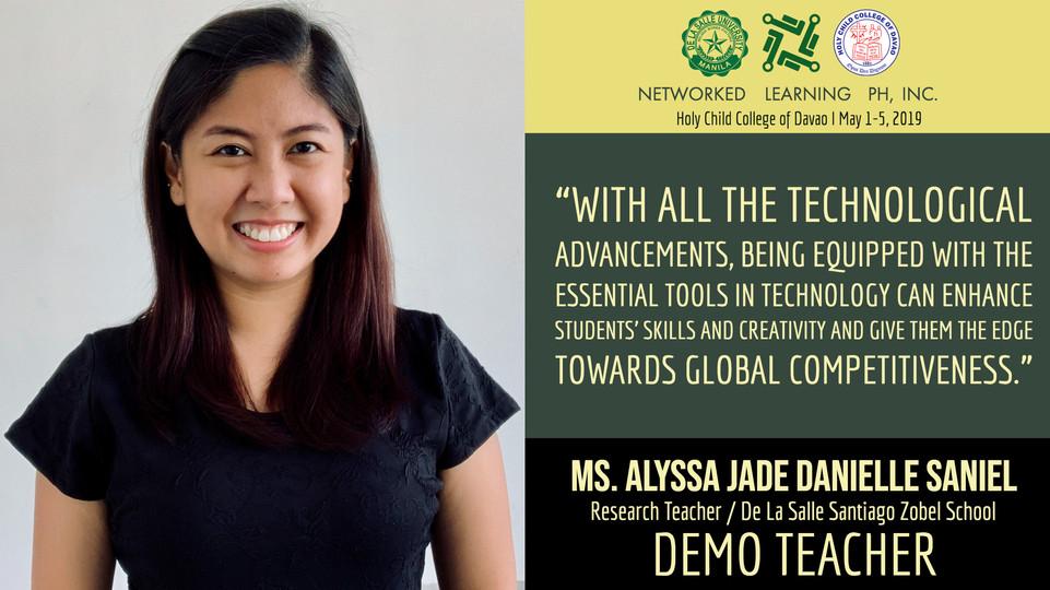 Ms. Alyssa Jade Danielle Saniel
