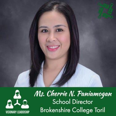 Ms. Cherrie N. Paniamogan
