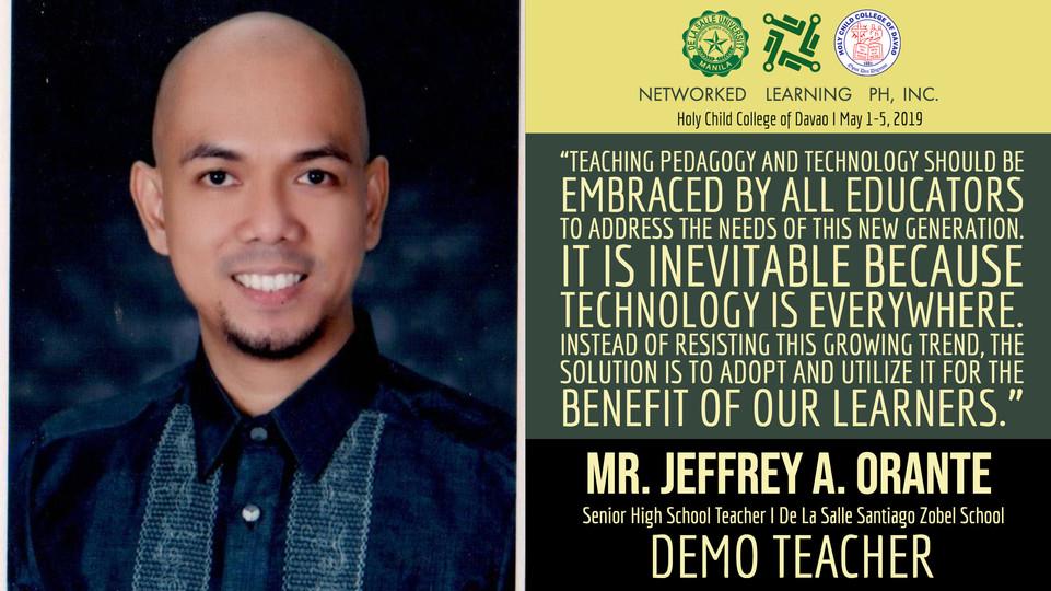 Mr. Jeffrey A. Orante