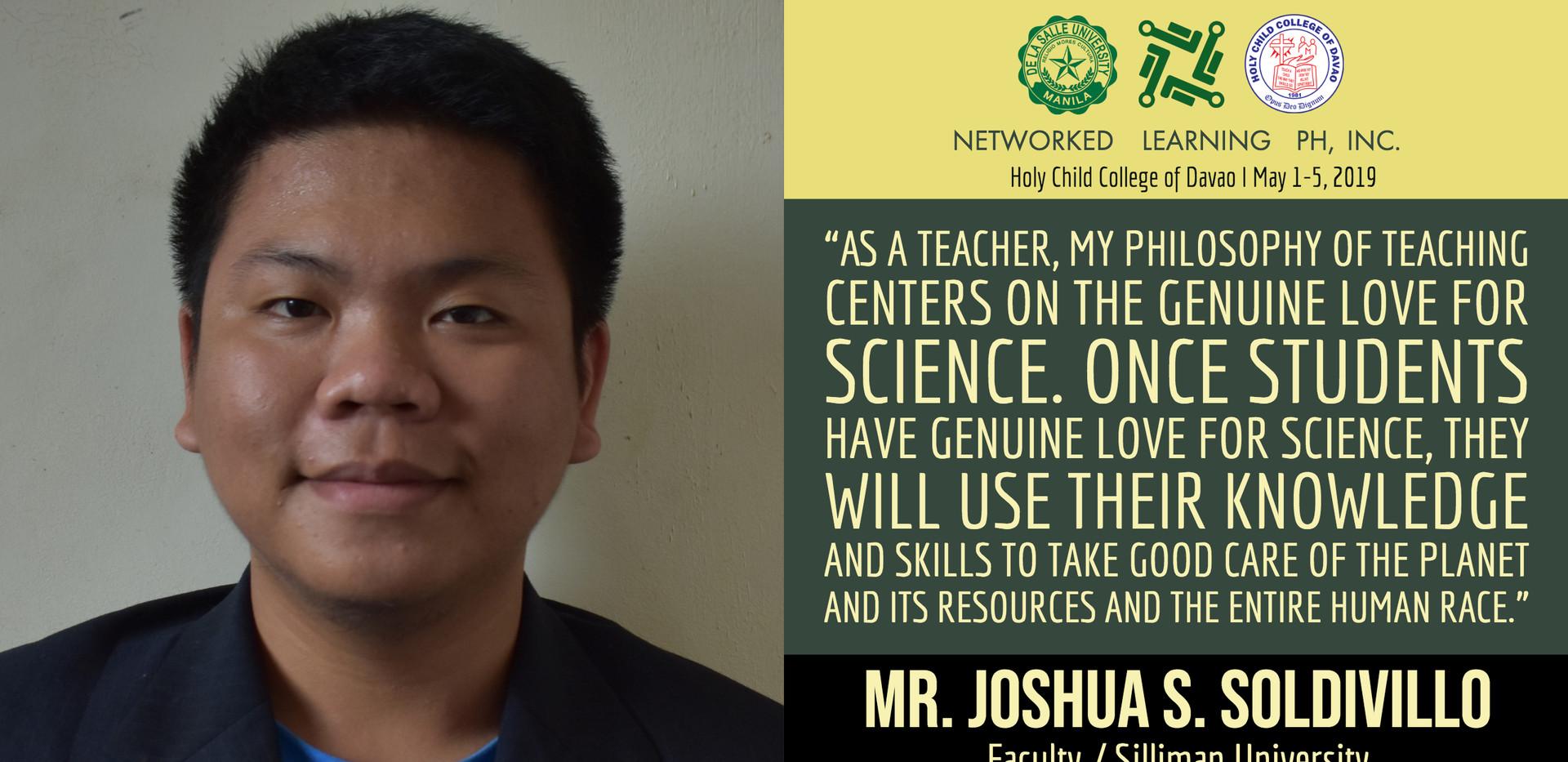 Mr. Joshua S. Soldivillo