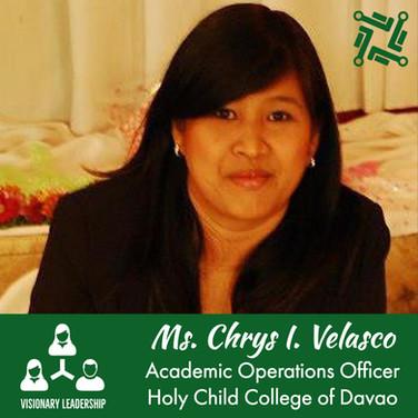 Ms. Ma. Chrystella I. Velasco