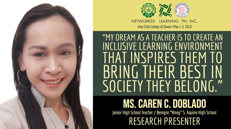 Ms. Caren C. Doblado