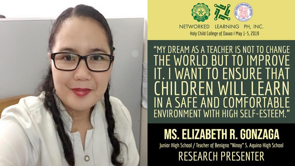 Ms. Elizabeth R. Gonzaga