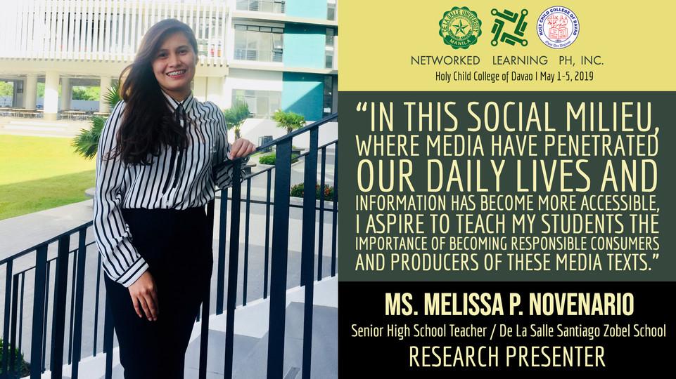 Ms. Melissa P. Novenario