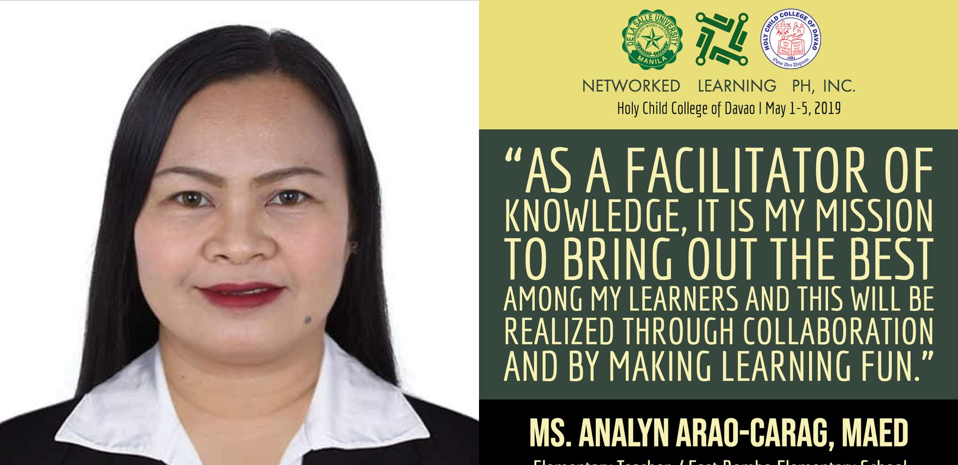 Ms. Analyn Arao-Carag