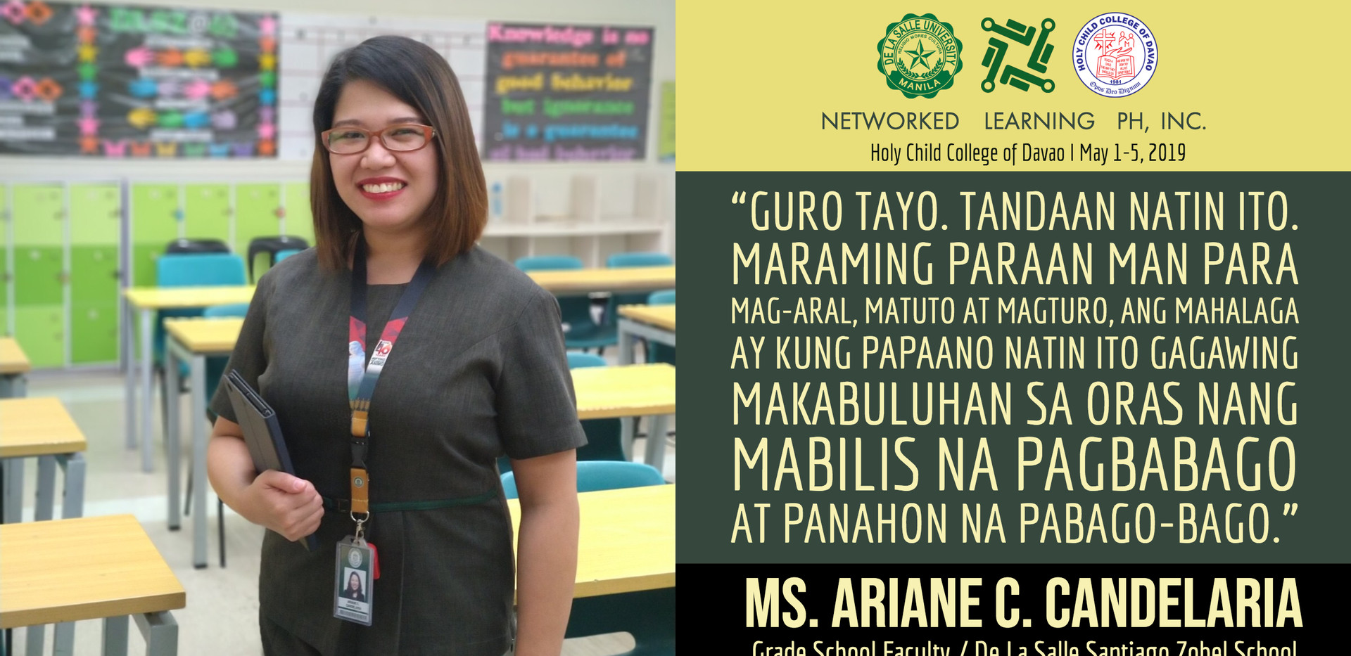 Ms. Arianne C. Candelaria