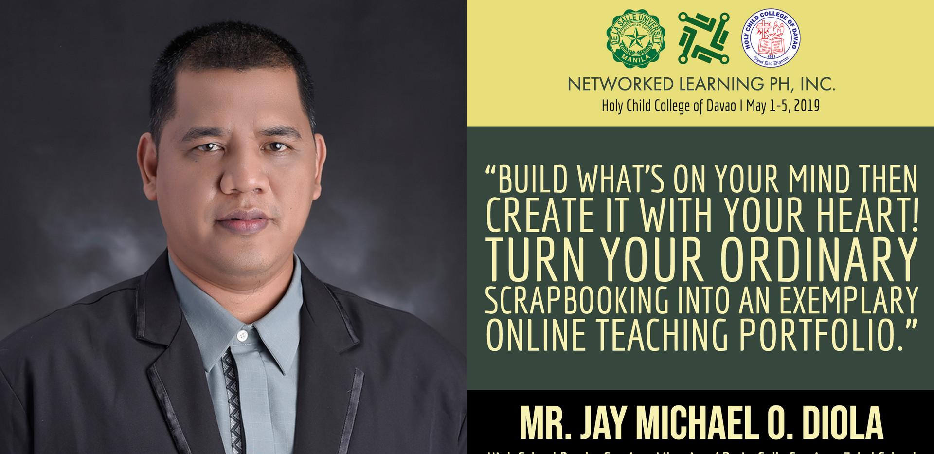 Mr. Jay Michael O. Diola