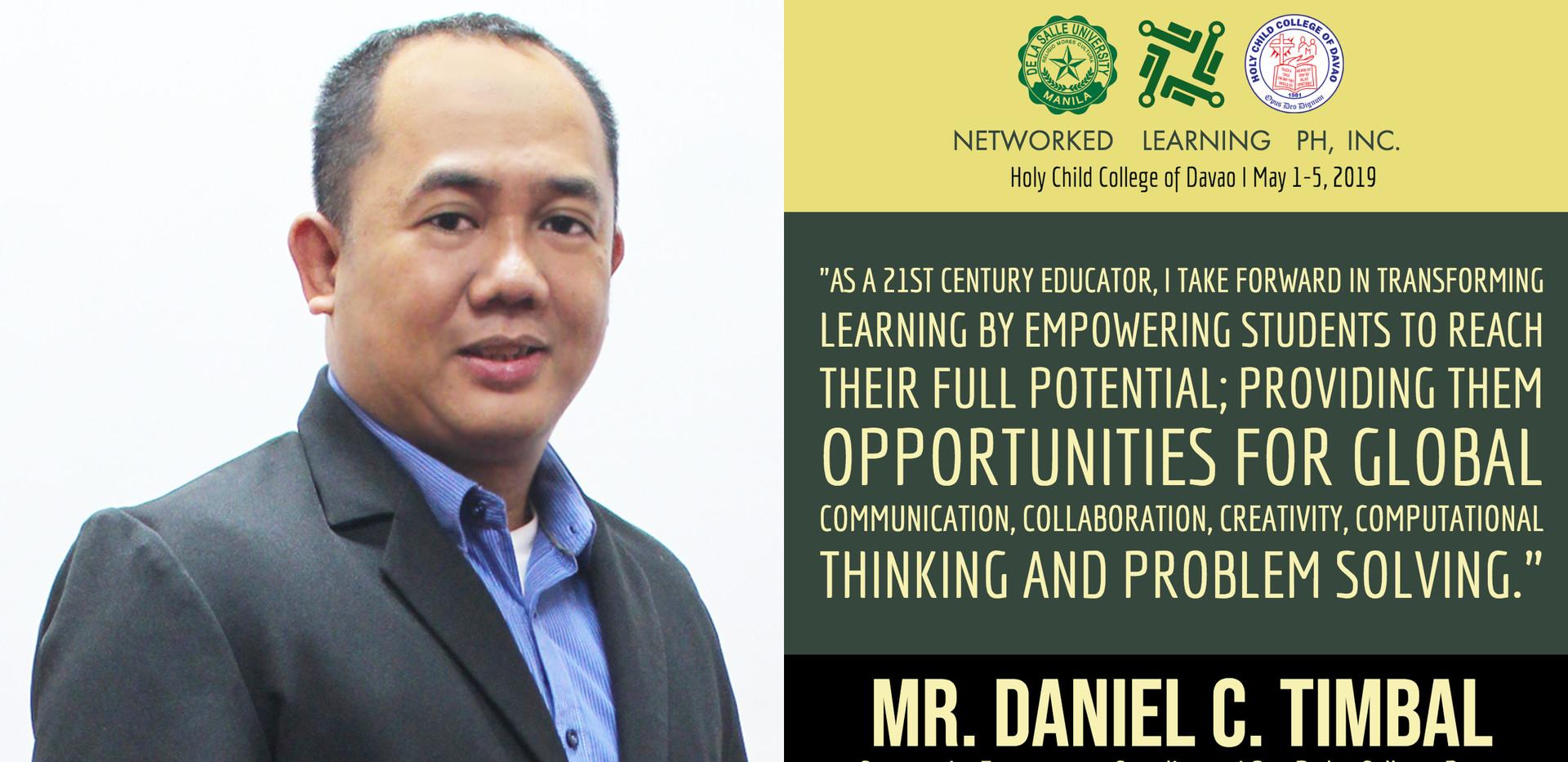 Mr. Daniel C. Timbal