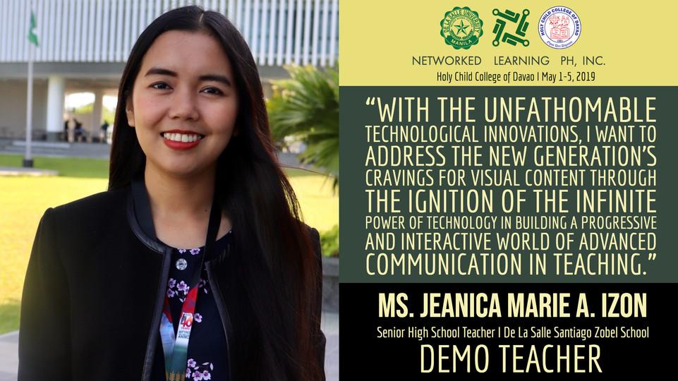 Ms. Jeanica Marie A. Izon