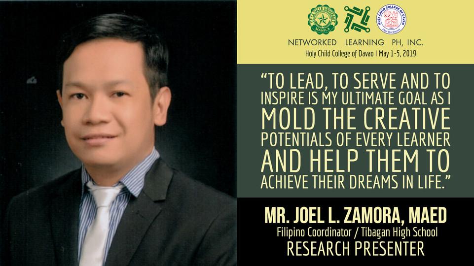 Mr. Joel L. Zamora