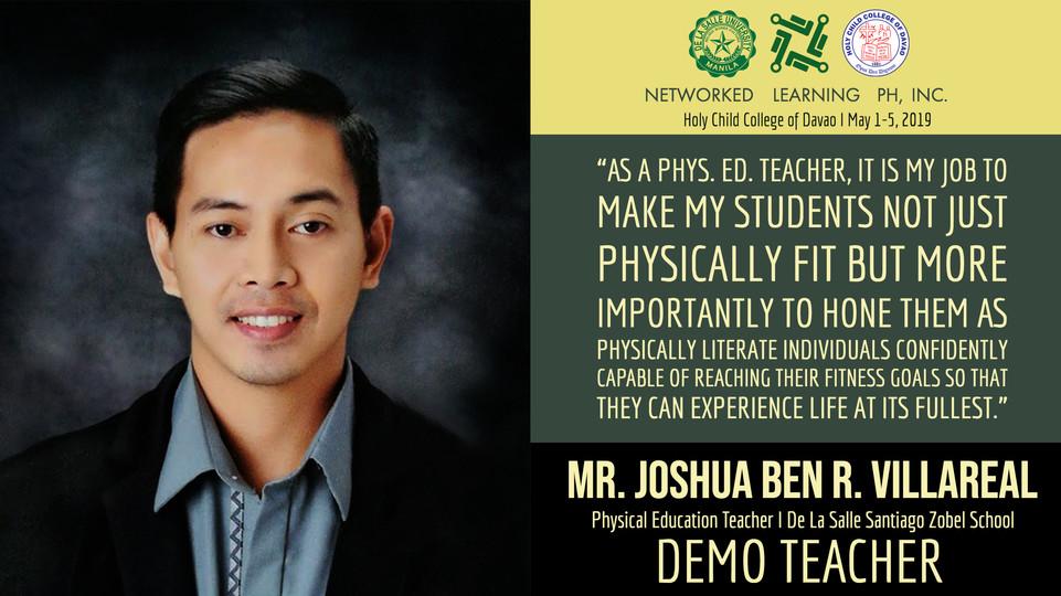 Mr. Joshua Ben R. Villareal