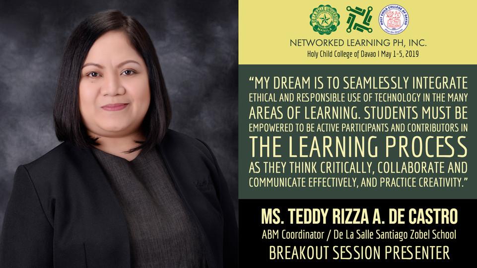 Mrs. Teddy Rizza De Castro