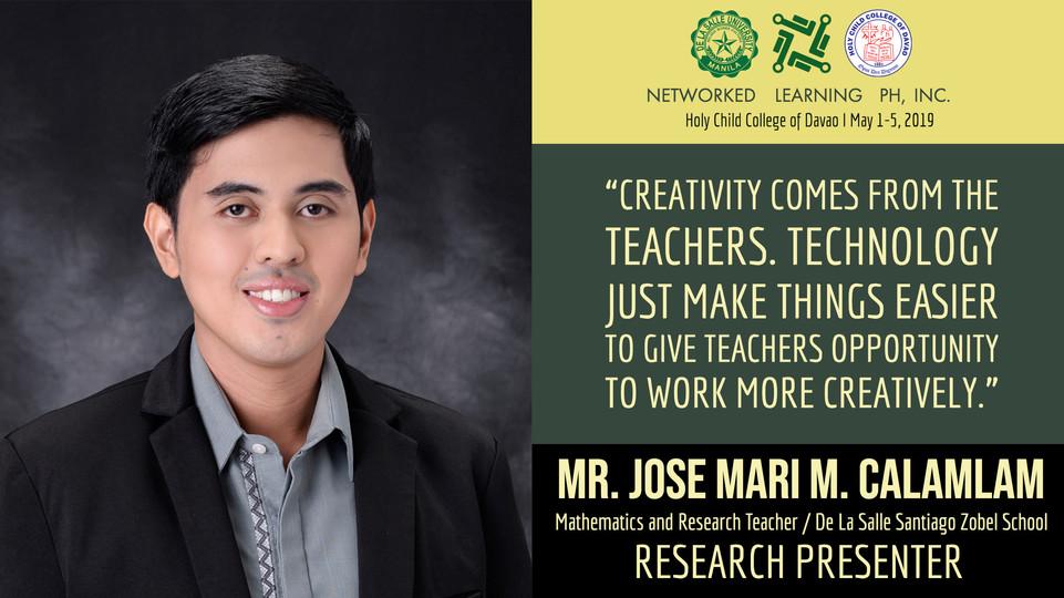 Mr. Jose Mari M. Calamlam