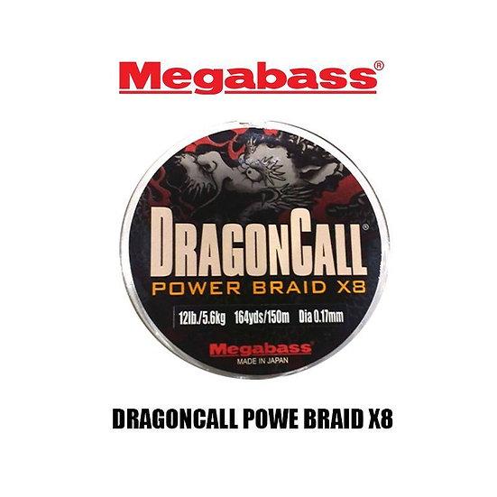 Шнур Megabass DragonCall Power Braid X8