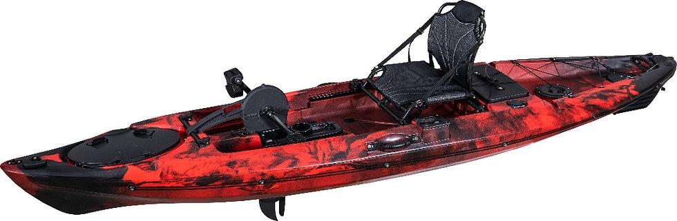 Каяк одноместный с педальным узлом FishermanLife (Mirage Propel Angler 12)
