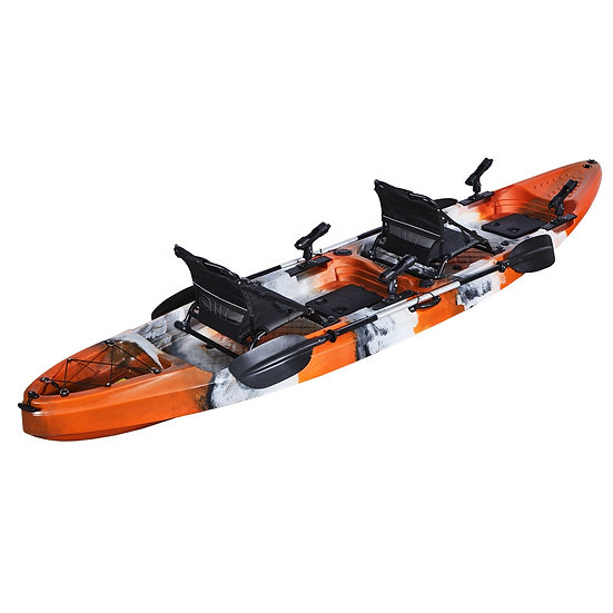 Каяк для рыбалки, охоты 2+1 на весельной тяге FishermanLife (Harmony HD)